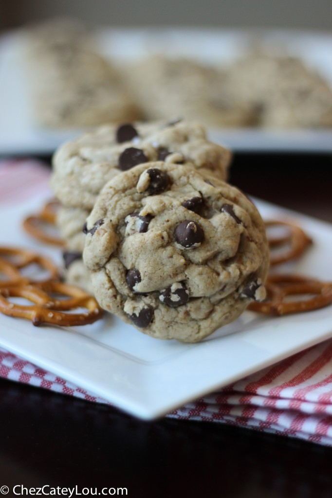 ... chocolate chip cookie to another level. Pretzel Chocolate Chip Cookies