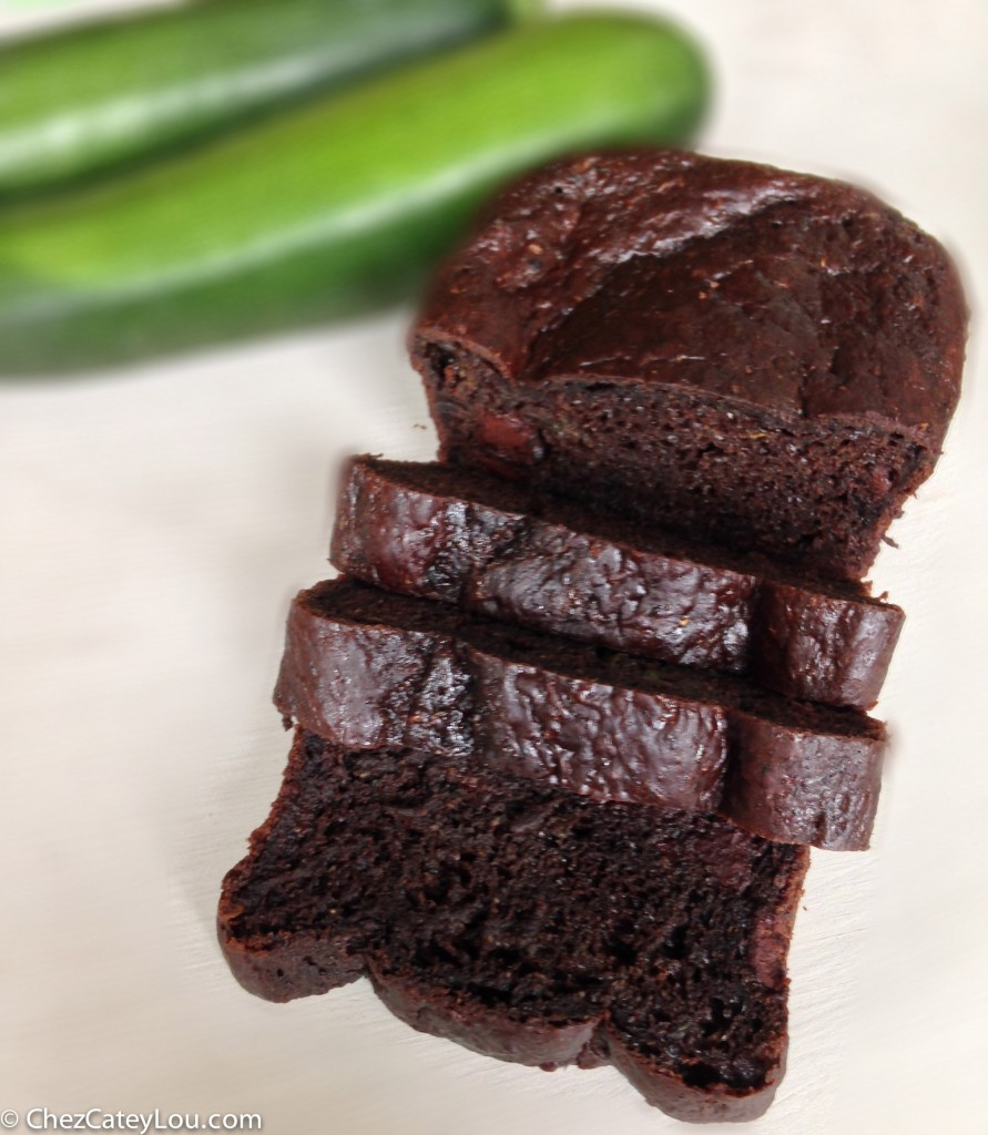 Chocolate Zucchini Bread - Chez CateyLou