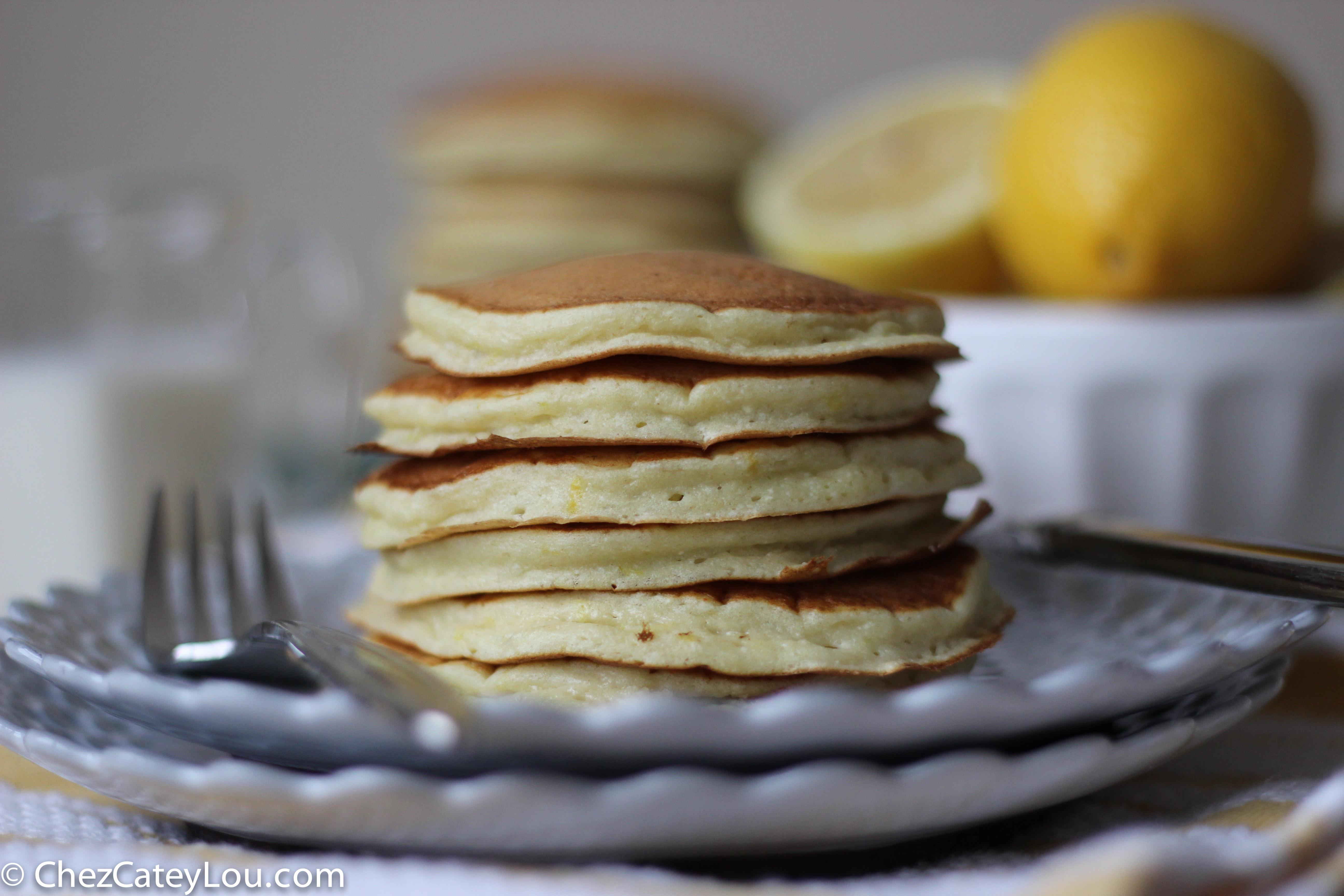 Lemon Ricotta Pancakes by Cate @ Chez CateyLou | Epicurious Community ...