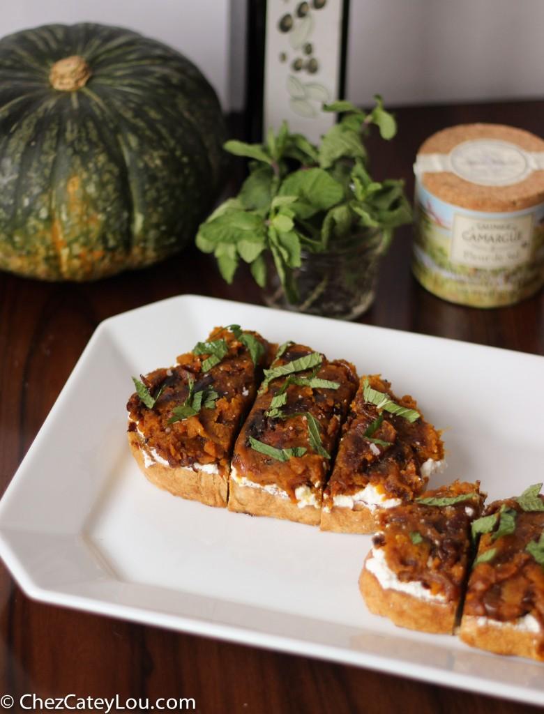 ABC Kitchen's Kabocha Squash Toast | chezcateylou.com