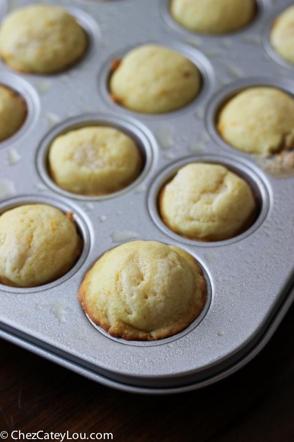 Orange Mini-Muffins With Brown Sugar Glaze Recipes — Dishmaps