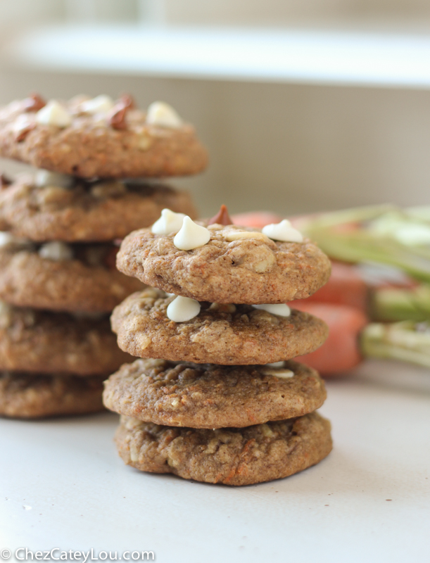 Carrot Cake Cookies | chezcateylou.com