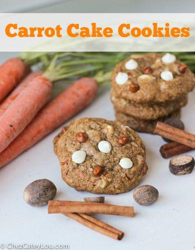 Carrot Cake Cookies | chezcateylou.com