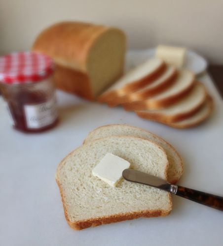 White Sandwich Bread | chezcateylou.com
