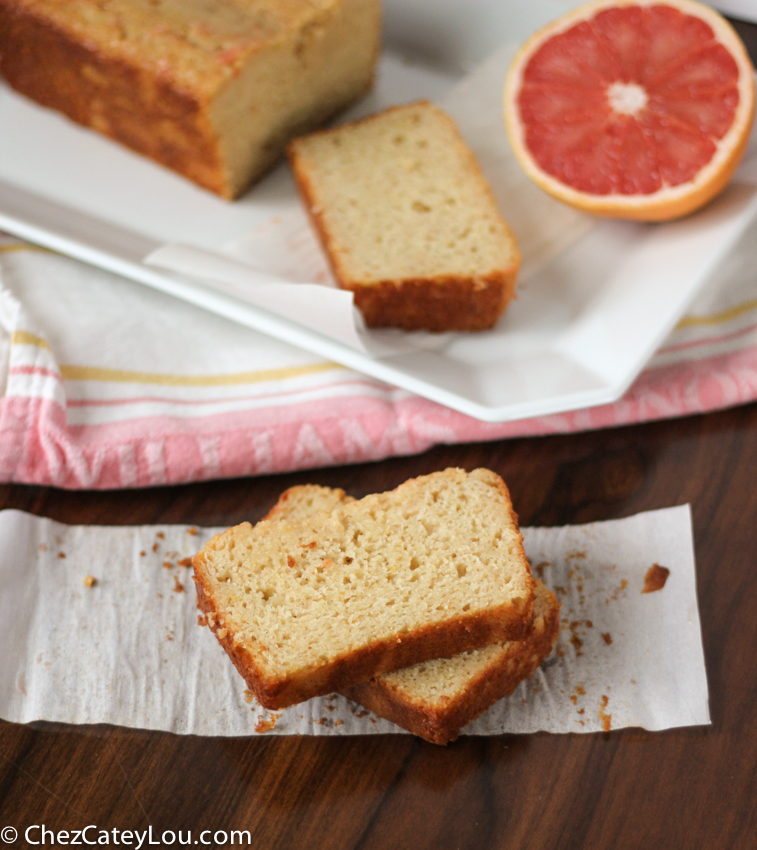This grapefruit yogurt cake is so moist and flavorful. It is light ...