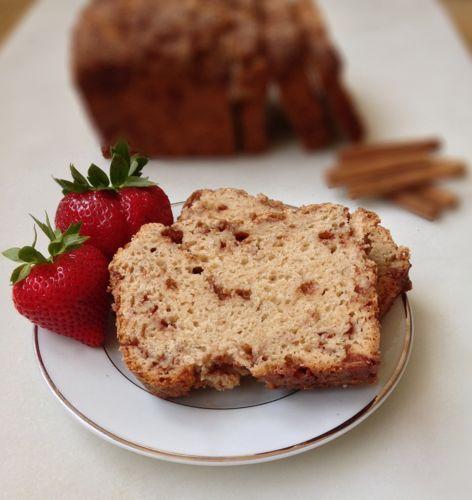 Easy Cinnamon Chip Bread | chezcateylou.com