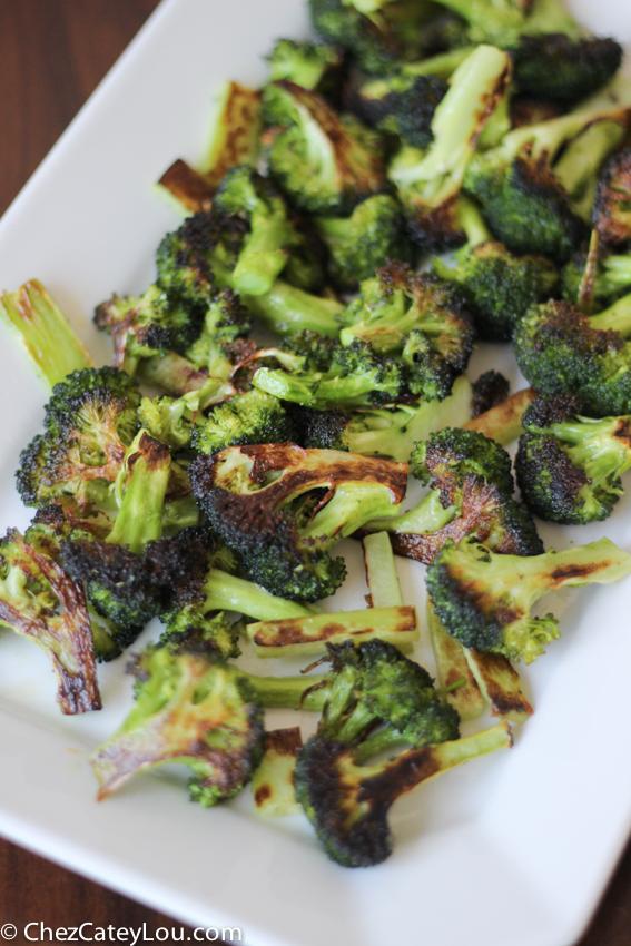 The Best Roasted Broccoli   chezcateylou.com