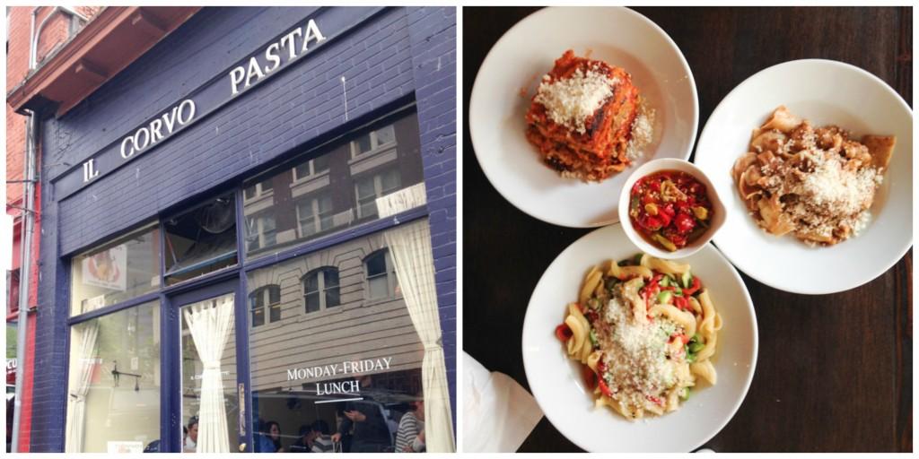 Il Corvo Pasta Seattle | chezcateylou.com