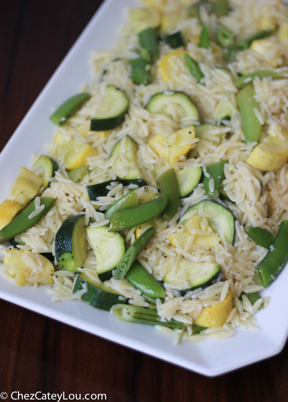 Orzo And Snap Pea Salad Recipe — Dishmaps