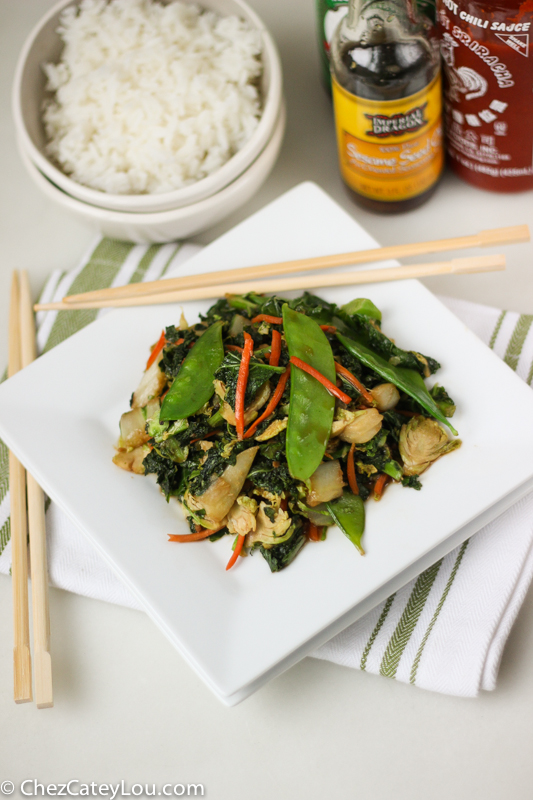 Easy Fried Rice with Asian Vegetables