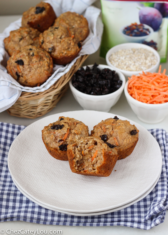 Skinny Carrot Cake Muffins
