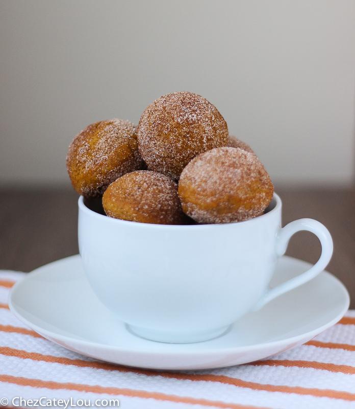 Pumpkin Donut Holes | ChezCateyLou.com