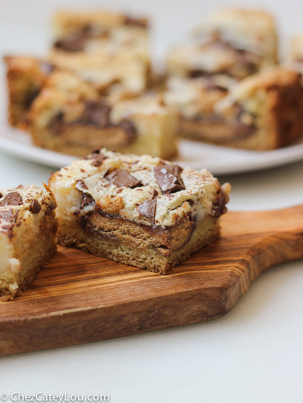 ... Peanut Butter Cup Cheesecake Bars are easy to make and addicting