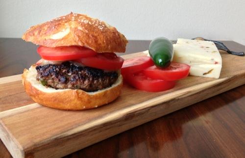 Pretzel Sandwich Buns | ChezCateyLou.com
