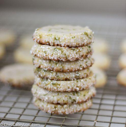 Key Lime Sugar Cookies | ChezCateyLou.com