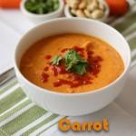 Carrot Coconut Soup | ChezCateyLou.com-9