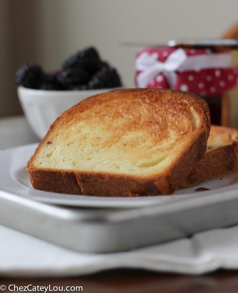 Brioche Bread | chezcateylou.com