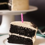 Chocolate Cake with Peanut Butter Buttercream Frosting-12