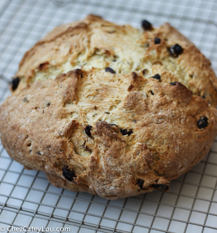 Irish Soda Bread | chezcateylou.com