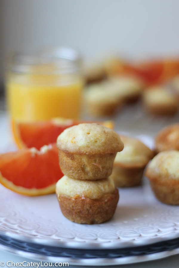 Cara Cara Orange Mini Muffins