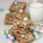 Brown Butter Easter Blondies | chezcateylou.com