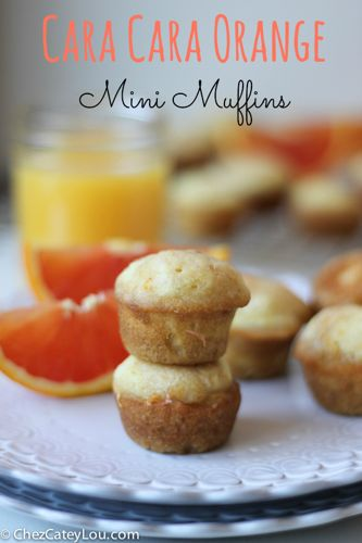 Cara Cara Orange Mini Muffin | chezcateylou.com