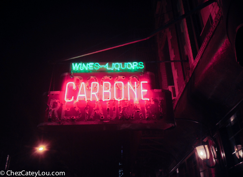 Carbone in NYC | chezcateylou.com