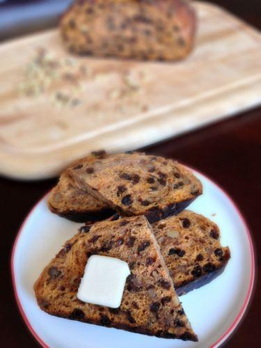 No-Knead Carrot Bread | chezcateylou.com