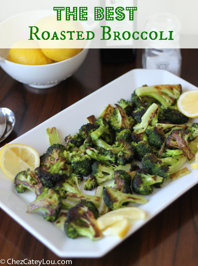The Best Roasted Broccoli | chezcateylou.com