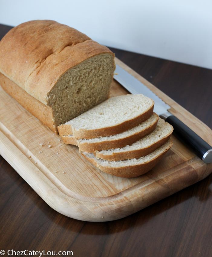 Honey Oatmeal Bread   chezcateylou.com