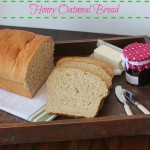 Honey Oatmeal Bread | chezcateylou.com