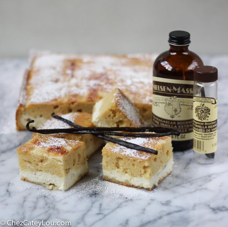 Vanilla Bean Ricotta Cheesecake Cake | chezcateylou.com