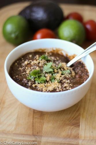 Best Vegetarian Chili | ChezCateyLou.com