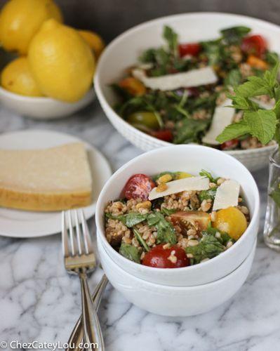 Charlie Bird's Farro Salad | chezcateylou.com
