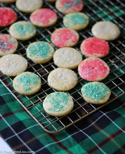 French Butter Cookies Sables | ChezCateyLou.com