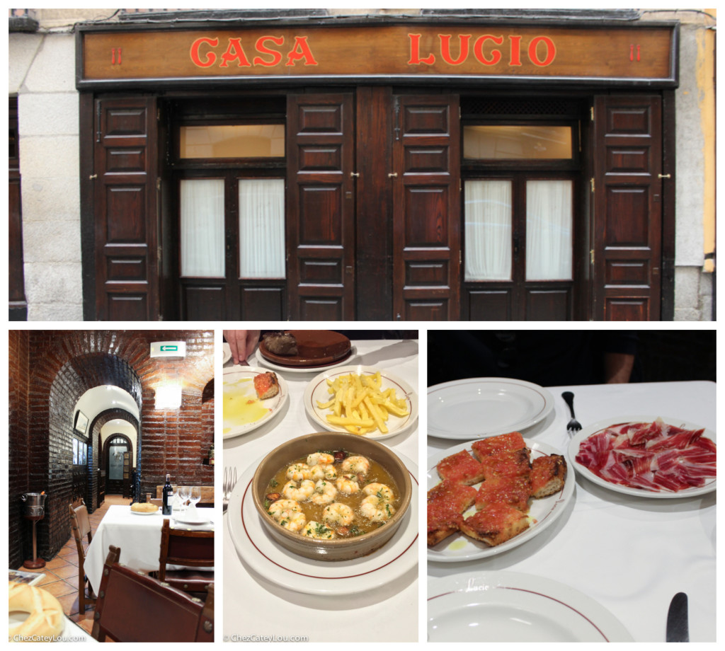 Casa Lucio restaurant in Madrid, Spain | ChezCateyLou.com