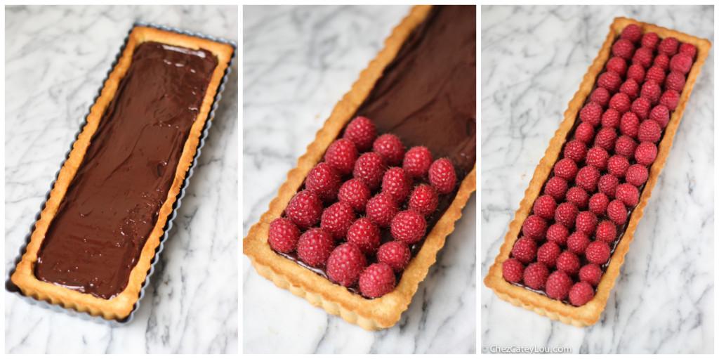 raspberry-chocolate-tart-1Collage