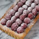 Raspberry Chocolate Tart | ChezCateyLou.com