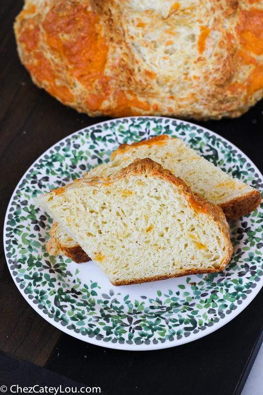 Cheesy Irish Soda Bread