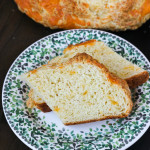 Cheesy Irish Soda Bread made with Kerrygold Dubliner Cheese | ChezCateyLou.com