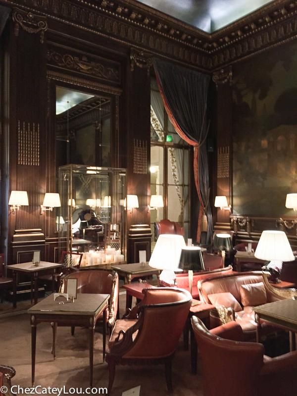 Le Meurice Paris, Bar 228 | ChezCateyLou.com