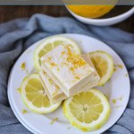 Lemon Brownies | ChezCateyLou.com