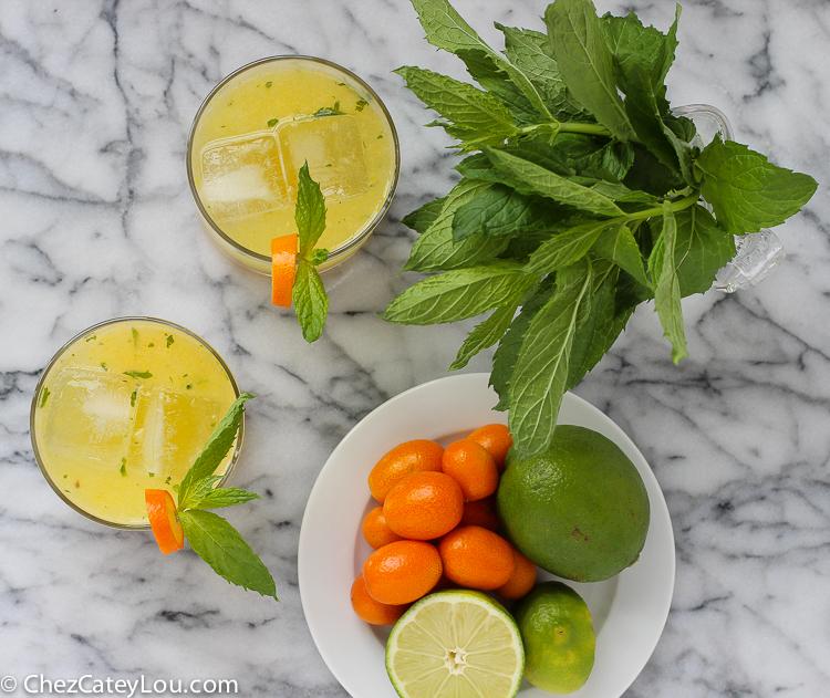 Kumquat Mojitos | ChezCateyLou.com