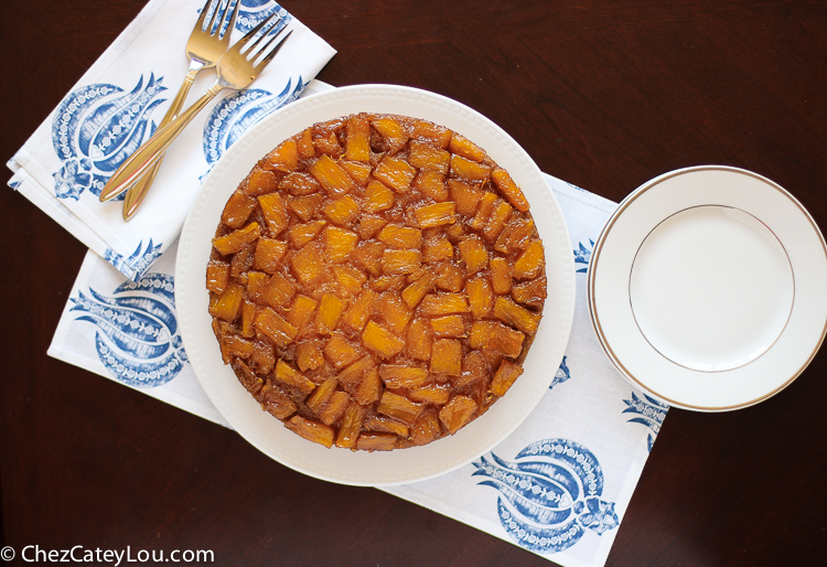 Pineapple Upside Down Cake | ChezCateyLou.com