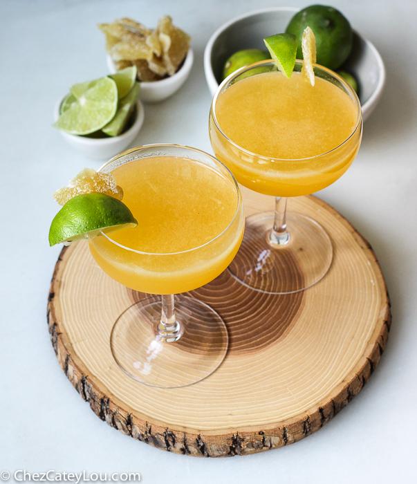Ginger Golden Margarita | ChezCateyLou.com
