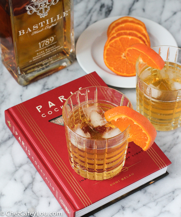 French Old Fashioned Cocktail | ChezCateyLou.com