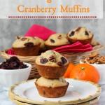 Orange Pecan Cranberry Muffins | ChezCateyLou.com