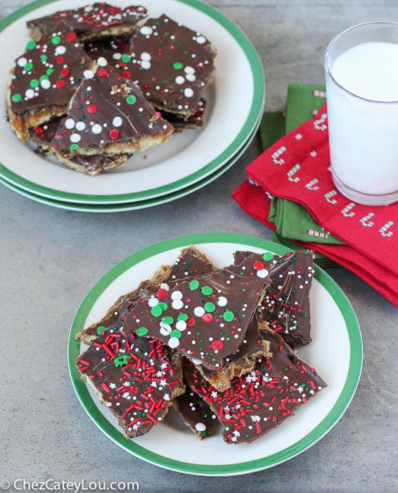 Peanut Butter Christmas Crack | ChezCateyLou.com
